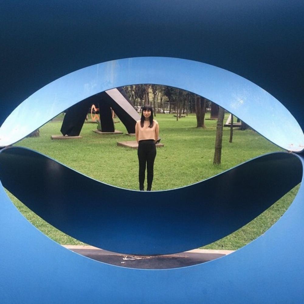 Vanhalam in Kaarem at Sculpture Garden at Museo de Arte Moderno