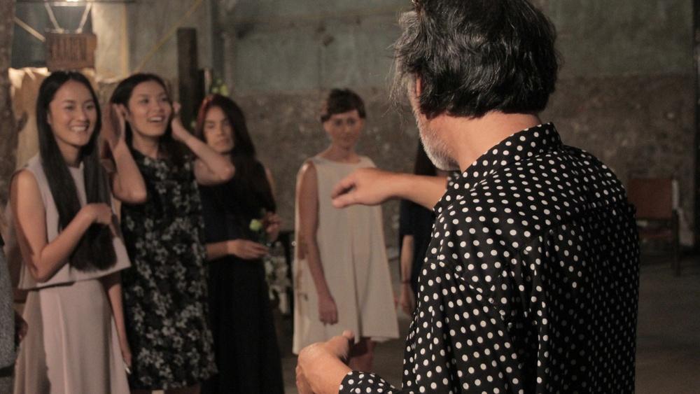 Rehearsal - Nguyen Qui Duc directing