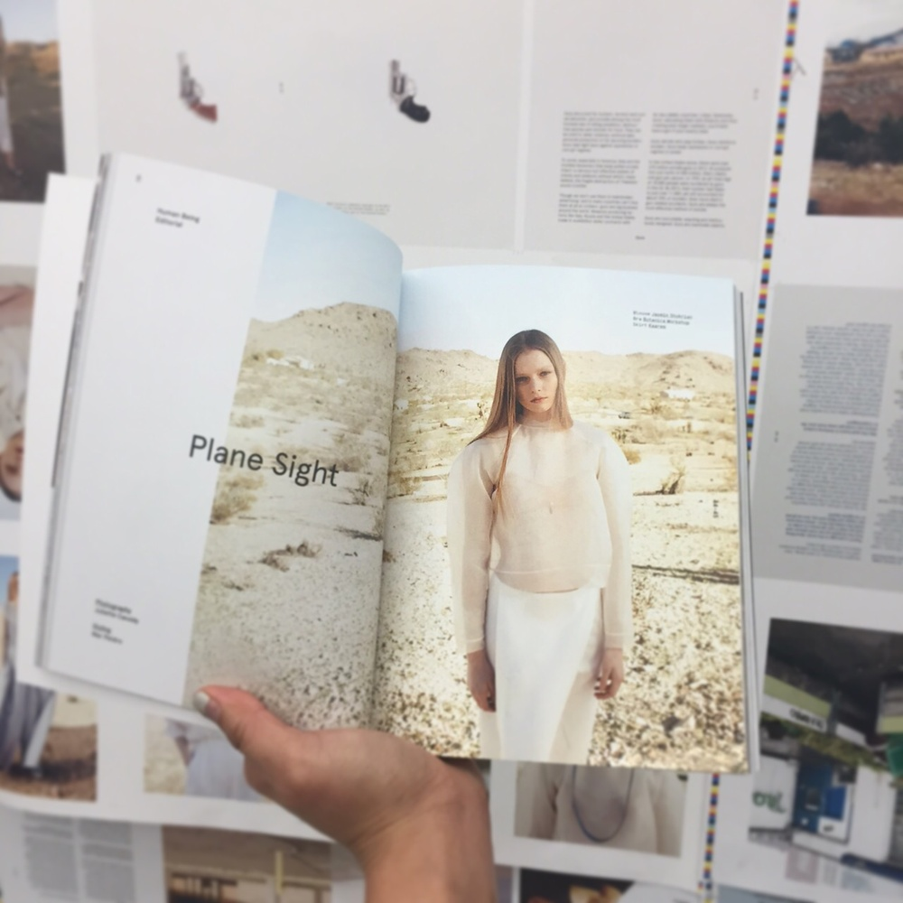 Kaarem skirt in Human Being Journal Issue 6